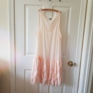 Aerie dusty pink cover up